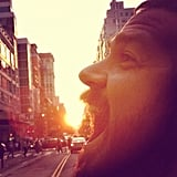Michaelfiorentino shows Manhattanhenge's most unique perspective.