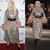 Lady Gaga Wearing Saint Laurent Fall '16