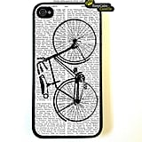 Keep Calm Case On Bicycle iPhone Case ($15)