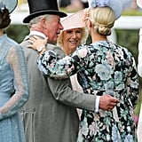 Prince Charles, Camilla, Duchess of Cornwall, and Zara Tindall