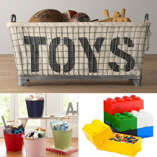 Cleanup Time: 9 Fun Storage Bins For Kids
