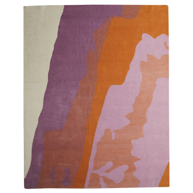 Abstract Marble Area Rug
