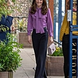 Kate Middleton Wearing Trousers