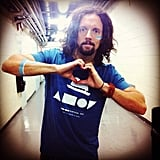 Jason Mraz shared his love with fans. Source: Instagram user jason_mraz