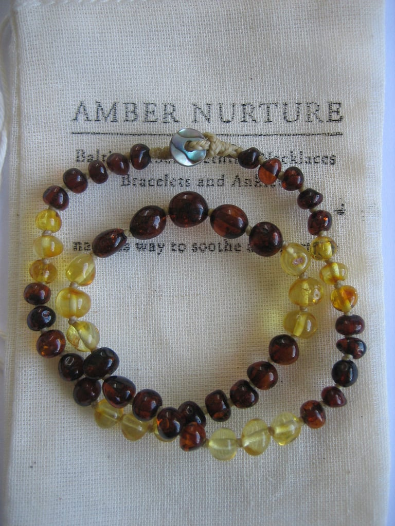 Amber Nurture Baltic Amber Teething Necklace ($45)