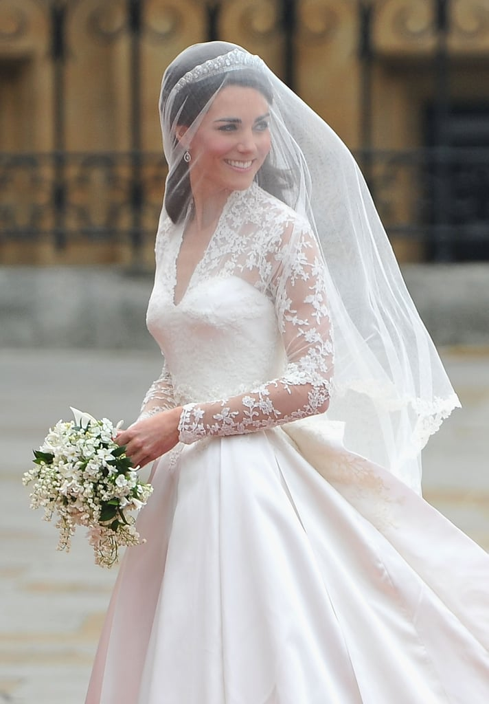 Kate's Alexander McQueen Wedding Dress