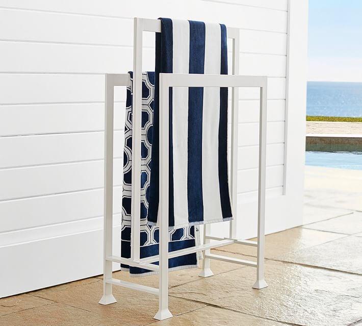 Malibu Pool Towel Valet