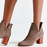 Sasha Whip Stitch Suede Ankle Boot