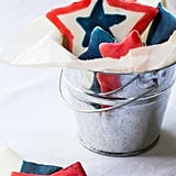 Painted Star Sugar Cookies