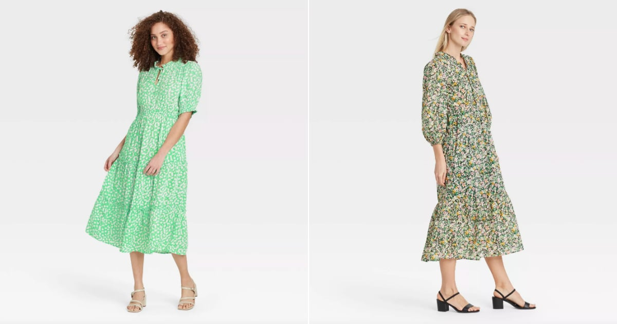 Trust Me, You'll Want to Go Everywhere in These Target Midi Dresses