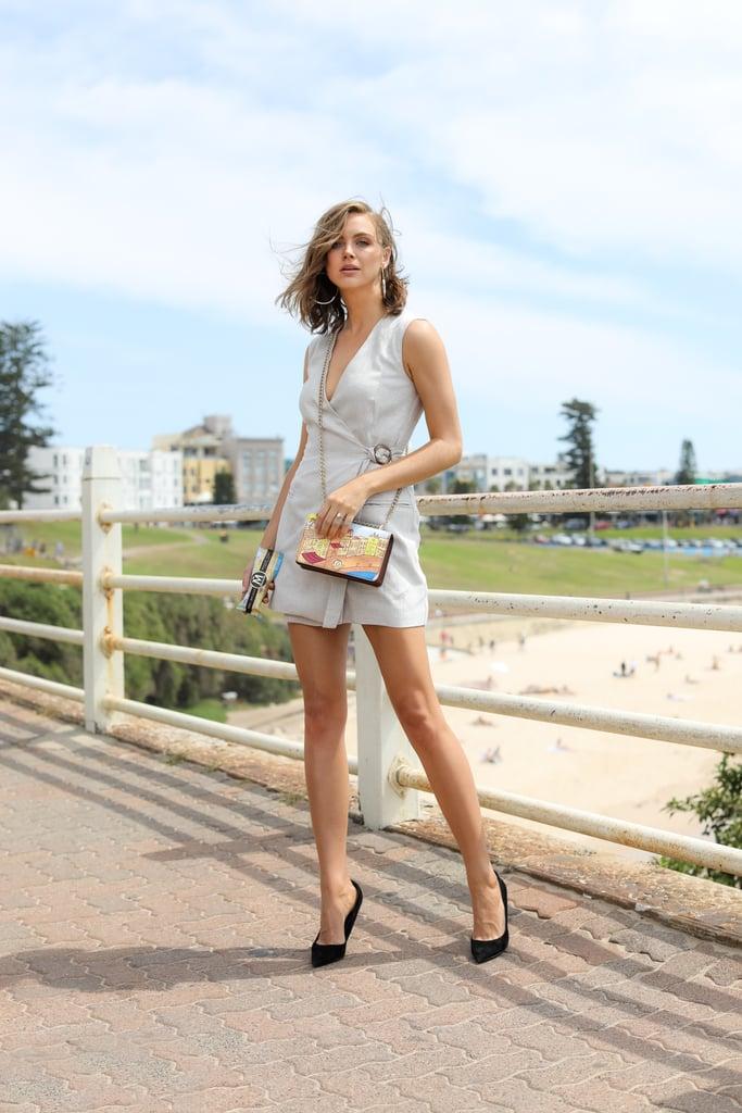 Ksenija Lukich wearing Bec & Bridge