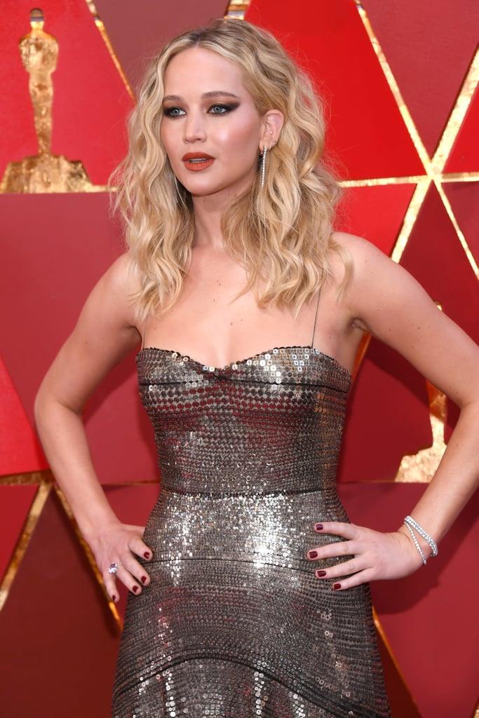Jennifer lawrence oscars dress 2018