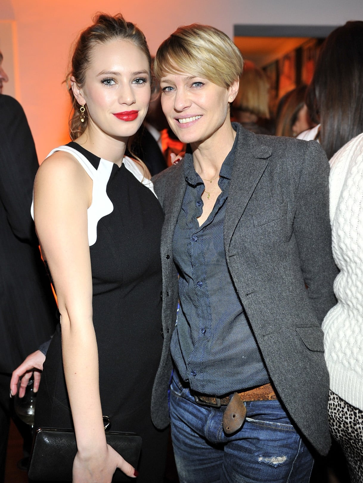 Robin Wright looked happy to show off her daughter, Dylan Penn.