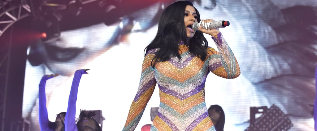 Cardi B's Ripped Jumpsuit From Bonnaroo Is Up For Auction