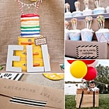 Birthday Parties: A Colorful Up-Inspired Party With Cool DIY Details