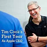 Tim Cook's First Interview