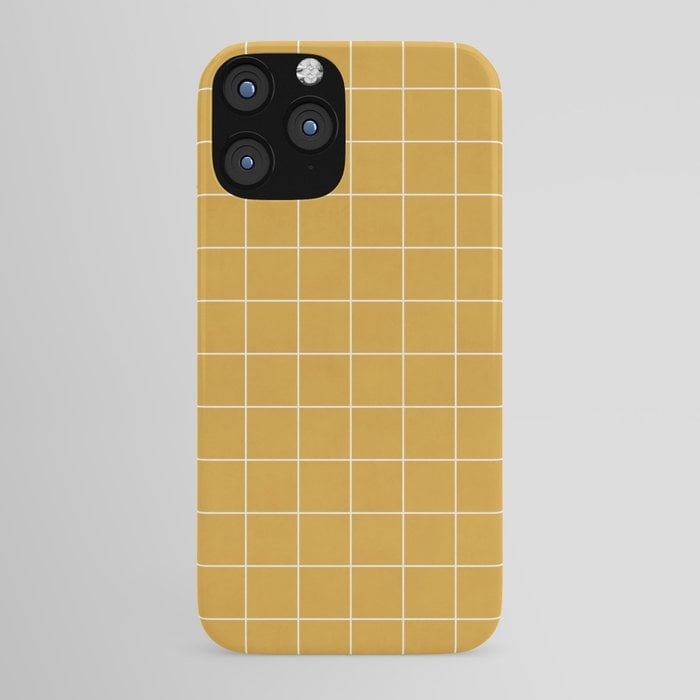 Small Grid Pattern iPhone Case