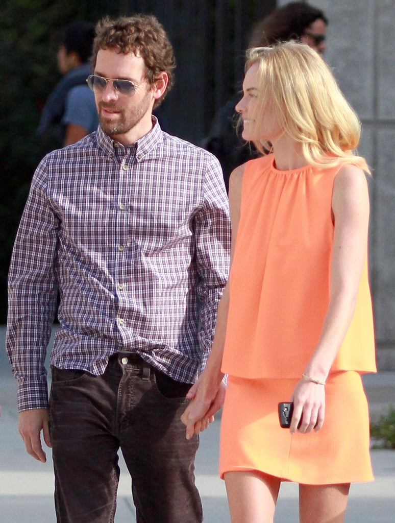 Kate Bosworth and her guy Michael Polish.