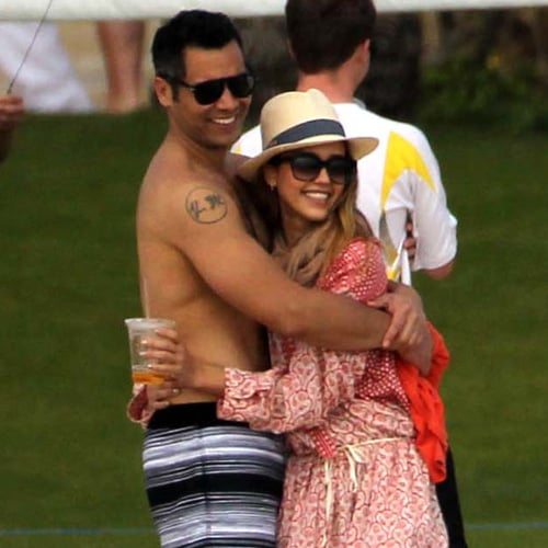 Jessica Alba in Cabo With Cash Warren and Honor | Pictures