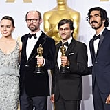 With Daisy Ridley and filmmakers James Gay-Rees, Asif Kapadia.