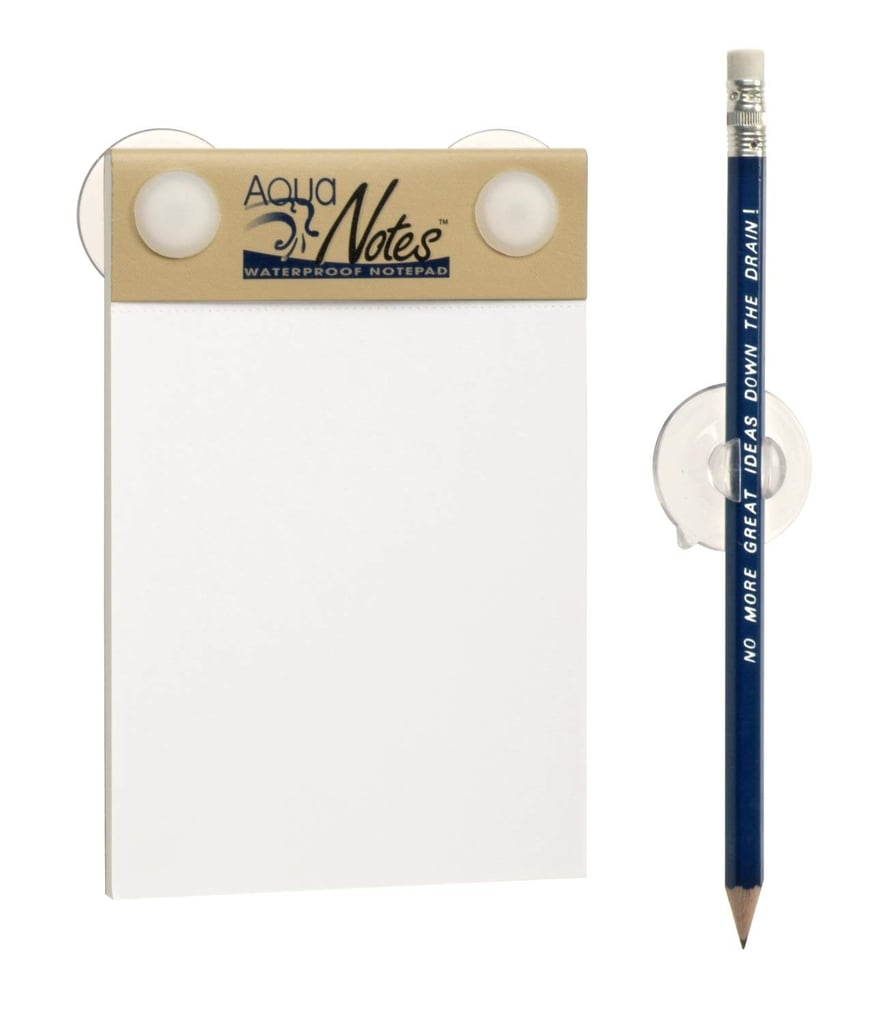 Each AquaNotes Set Comes With a Pad and Pencil