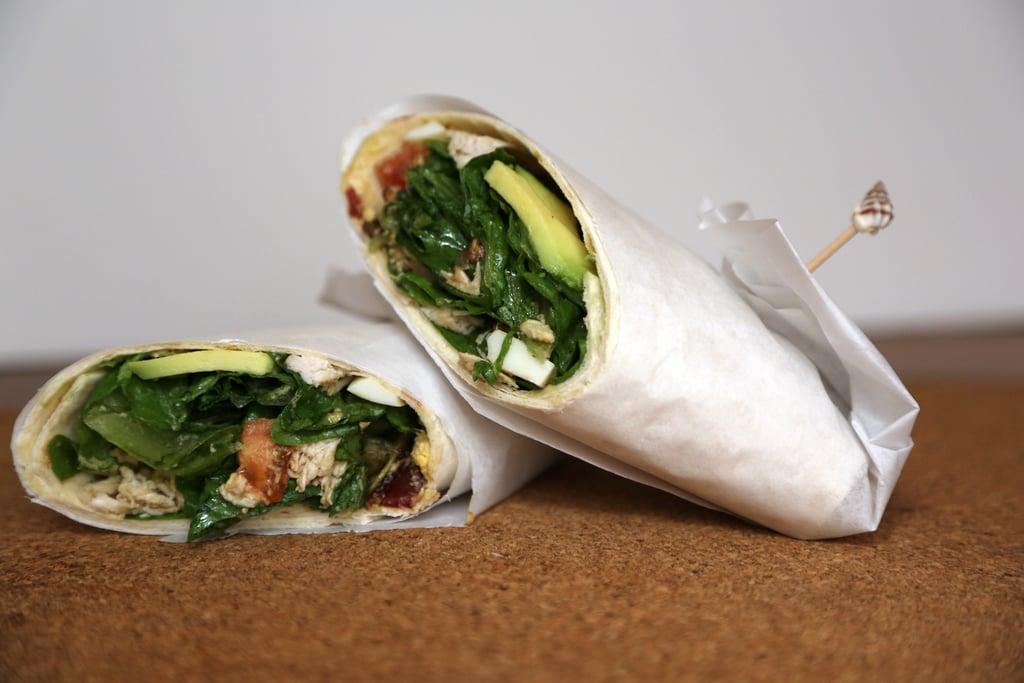 Cobb Salad Wrap Sandwich