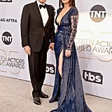 Michael Douglas and Catherine Zeta-Jones at the 2019 SAG Awards