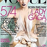 Lady Gaga landed on the cover of Vogue.