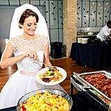 This Breakfast-For-Dinner Wedding Had an Open (Omelet) Bar