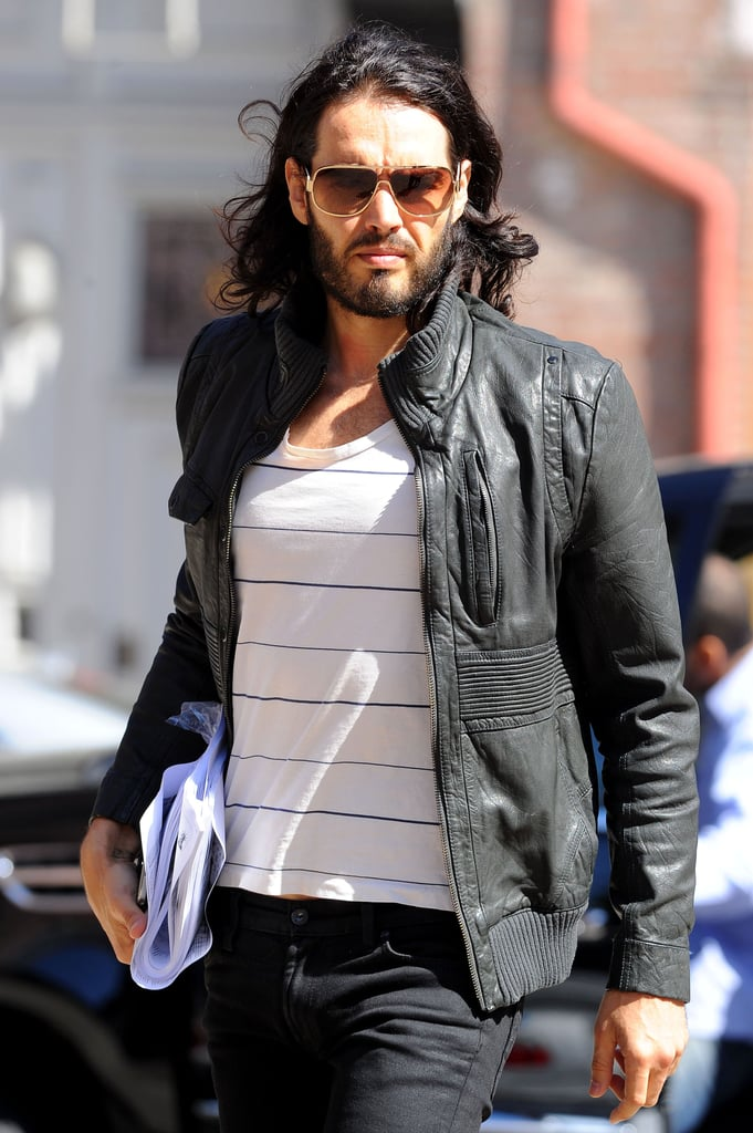 Photos of Katy Pery and Russell Brand in New York