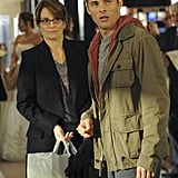 Tina Fey as Liz and James Marsden as Criss on 30 Rock.