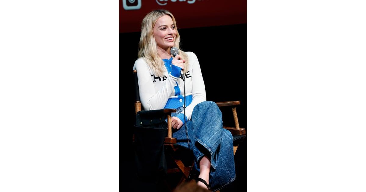 Margot Robbie Wearing ...