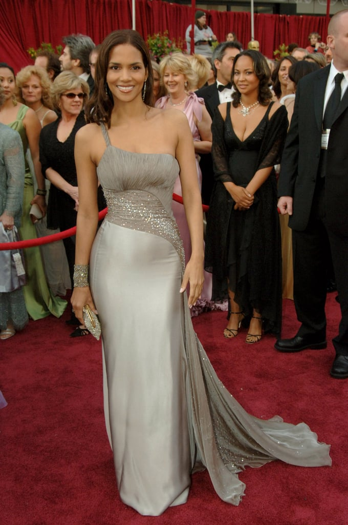 Halle Berry in Versace at the Oscars