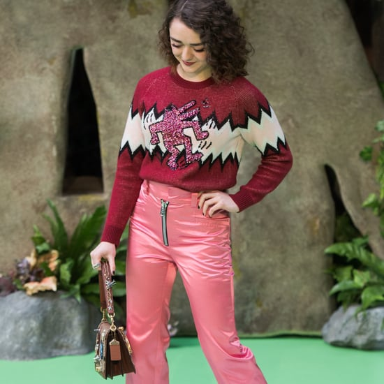 Maisie Williams Coach Outfit at Early Man Premiere