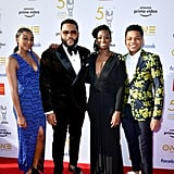 Pictured: Kyra Anderson, Anthony Anderson, Alvina Stewart, and Nathan Anderson