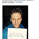 Tom Hiddleston Supported Emma Watson's Empowering Speech on Feminism