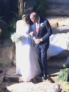 Allison Williams Wedding Pictures