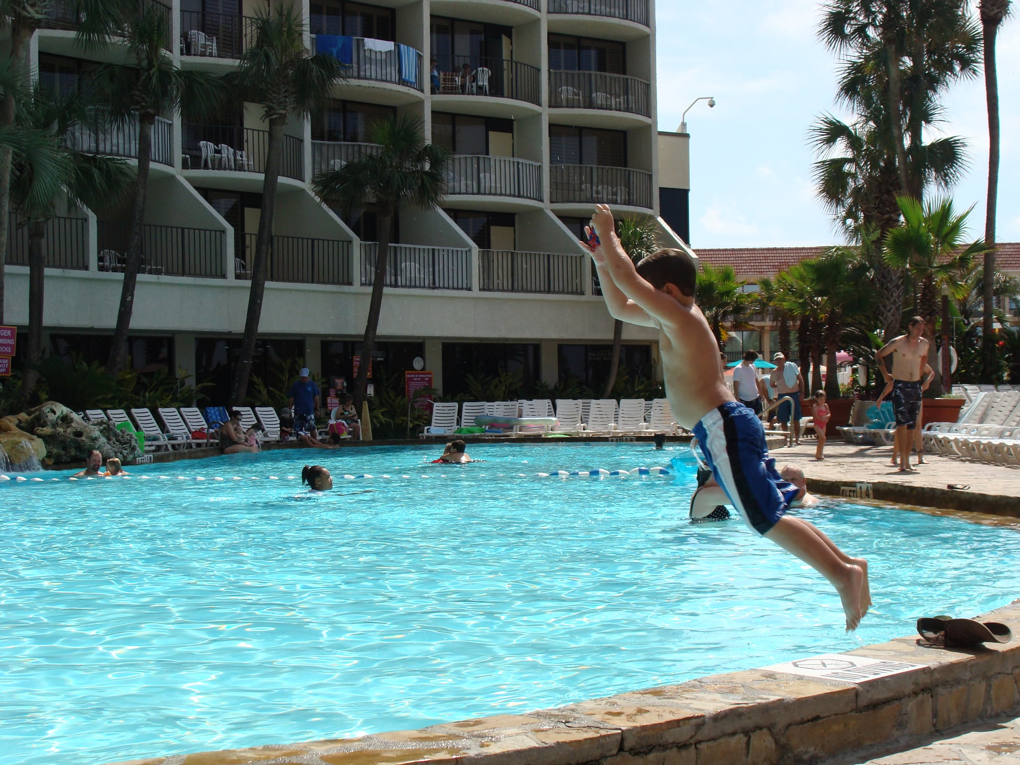 Are hotel pools safe to swim in popsugar family - According to jim the swimming pool ...