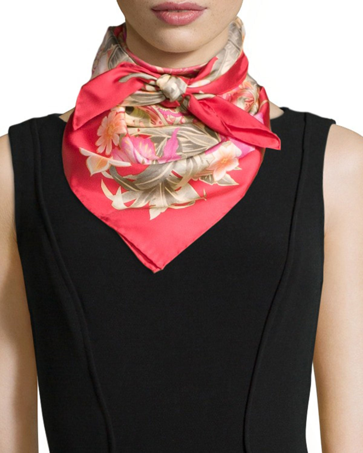 Aliexpress.com : Buy Women Real Silk Scarf 100% Silk Spain ...