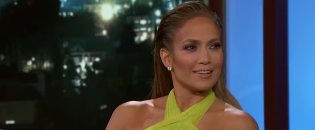 Jennifer Lopez Talks About Valentine's Day With Jimmy Kimmel