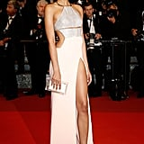 Chanel Iman Knew Just How Hot She Looked in This Kaufmanfranco Gown