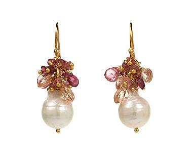 Alexis Bittar Pearl Cluster Earrings - TWIST Online