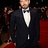 Ben Affleck looked dressed up and dapper.