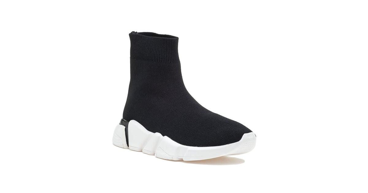 Jeffrey Campbell Redman Stretch Sneaker Black Fabric