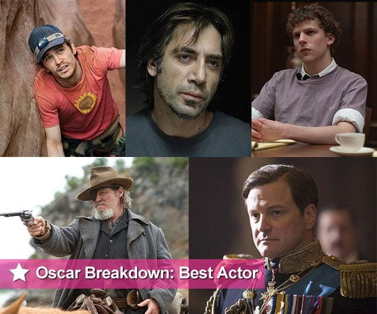 2011 Best Actor Oscar Nominee Breakdowns and Chances of Winning