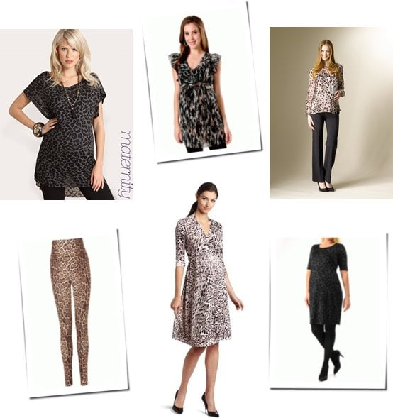 6bc068698d634 Maternity Clothes With Leopard Print | POPSUGAR Family