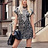 Indulge your inner rocker with a look that rivals Daphne Groeneveld, and to do so, don't skimp on the sex appeal or on the knee-high boots.