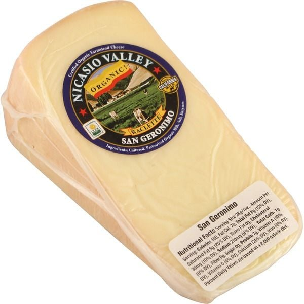 Nicasio Valley Organic San Geronimo Cheese ($19 per 1/4 pound)