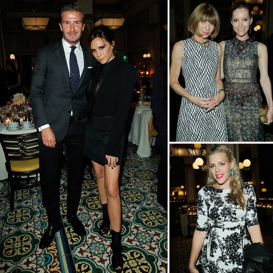 David and Victoria Do Dinner With a Stylish CFDA Crowd