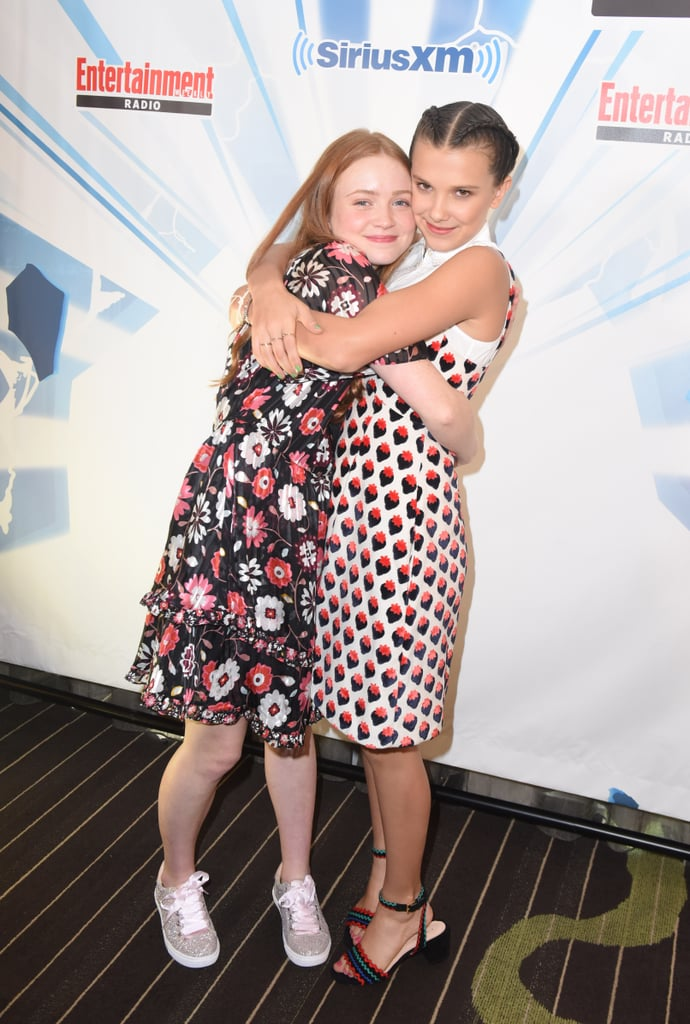 Millie Bobby Brown and Sadie Sink Friendship Pictures